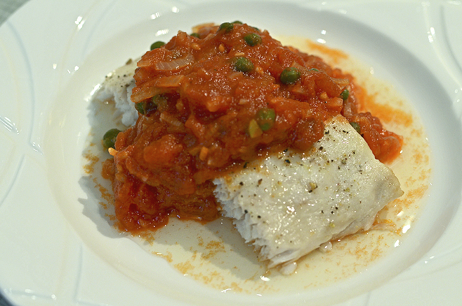 Broiled Tilapia With Tomato Caper Sauce Recipes — Dishmaps