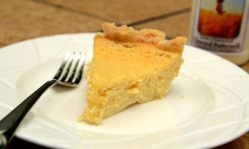 Buttermilk Pie - Recipe - Slice